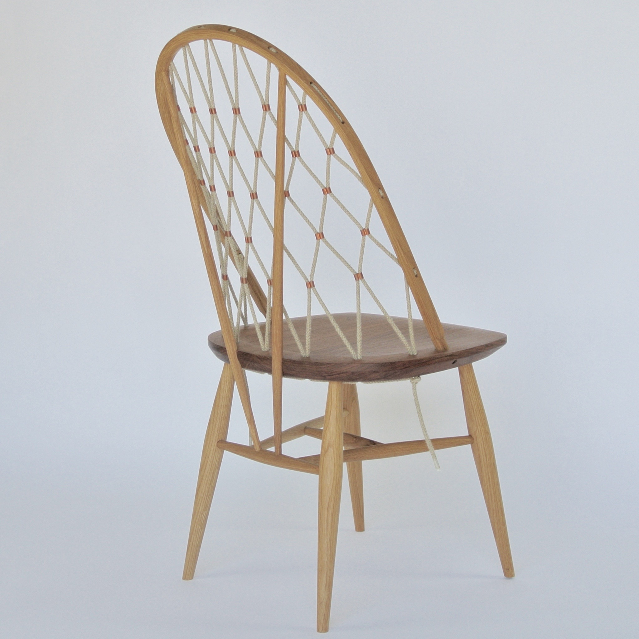 Woven Bow Back Chair