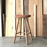 curve counter stool