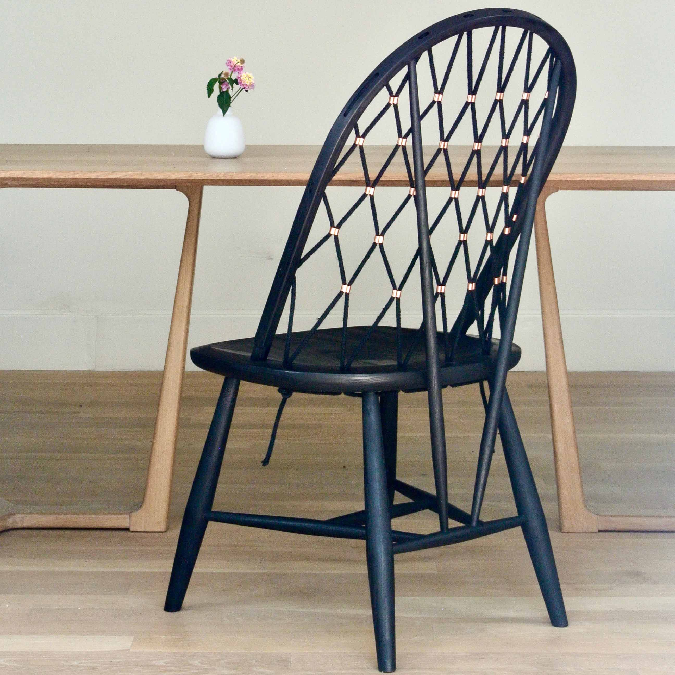 Our Woven Bow Back Chair Is A Modern And Unusual Twist On A Perennial  Design Favorite. Elegantly Upgraded To Take Advantage Of The Finest Woods,  ...